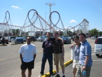 Ready to face the thrills and spills of 6 Flags Adventure Park