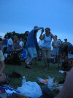 Dancing at Blues on the Green