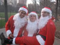 Highlight for Album: NYC Santas