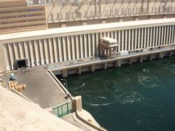 The dam provides 90% of Egypts electricity