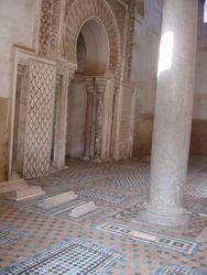 Saadian tombs. Take a tour guide, ours was very helpful even though he only had 1 leg!