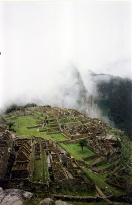 And at last we arrive at Machu Picchu!